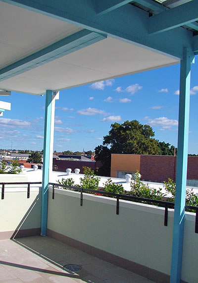 roof top - addison road hostel